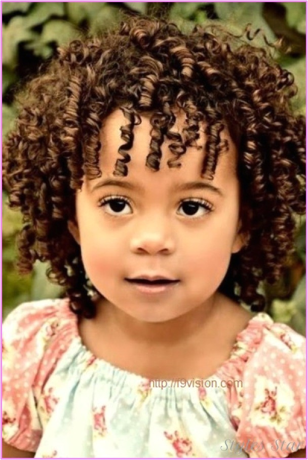 Short Curly Hairstyles for toddlers Short Haircuts for Little Girls with Curly Hair
