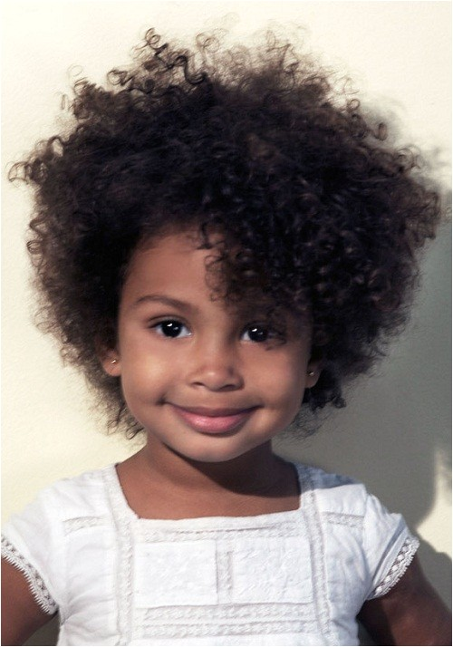 short hairstyles for curly hair girls kids