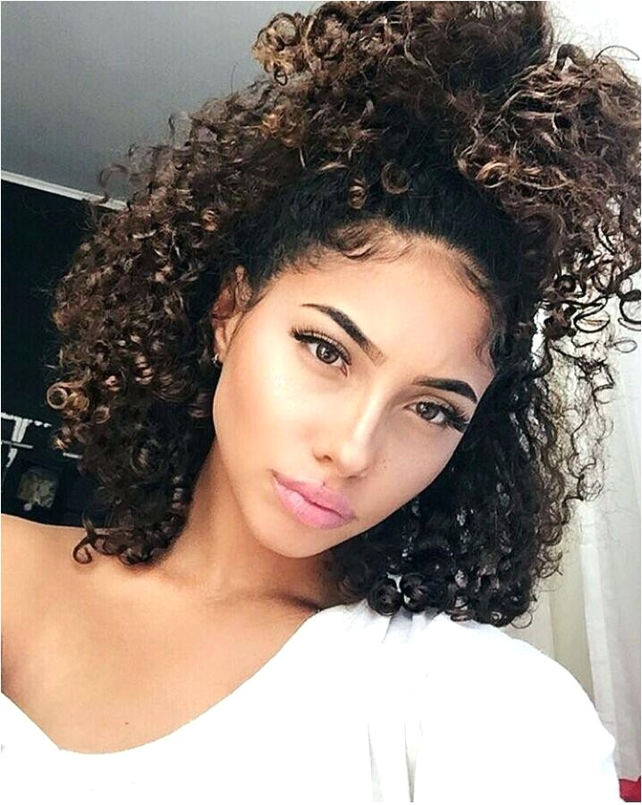 hairstyles for mixed curly hair