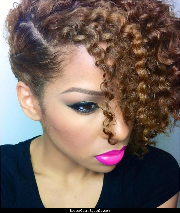 short curly mixed race hairstyles