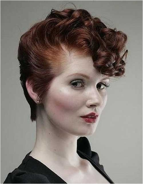 20 very short curly hairstyles