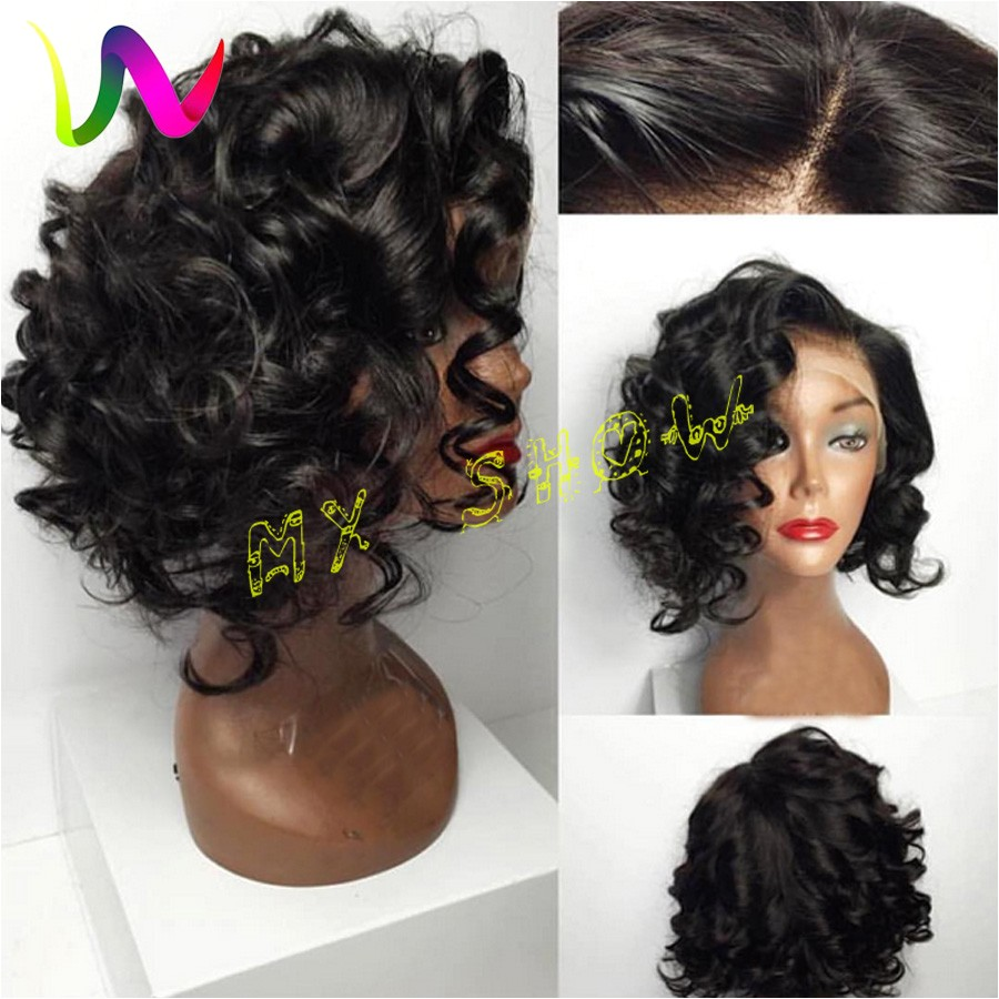 short deep wave hairstyles