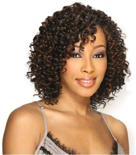 short deep wave weave hairstyles