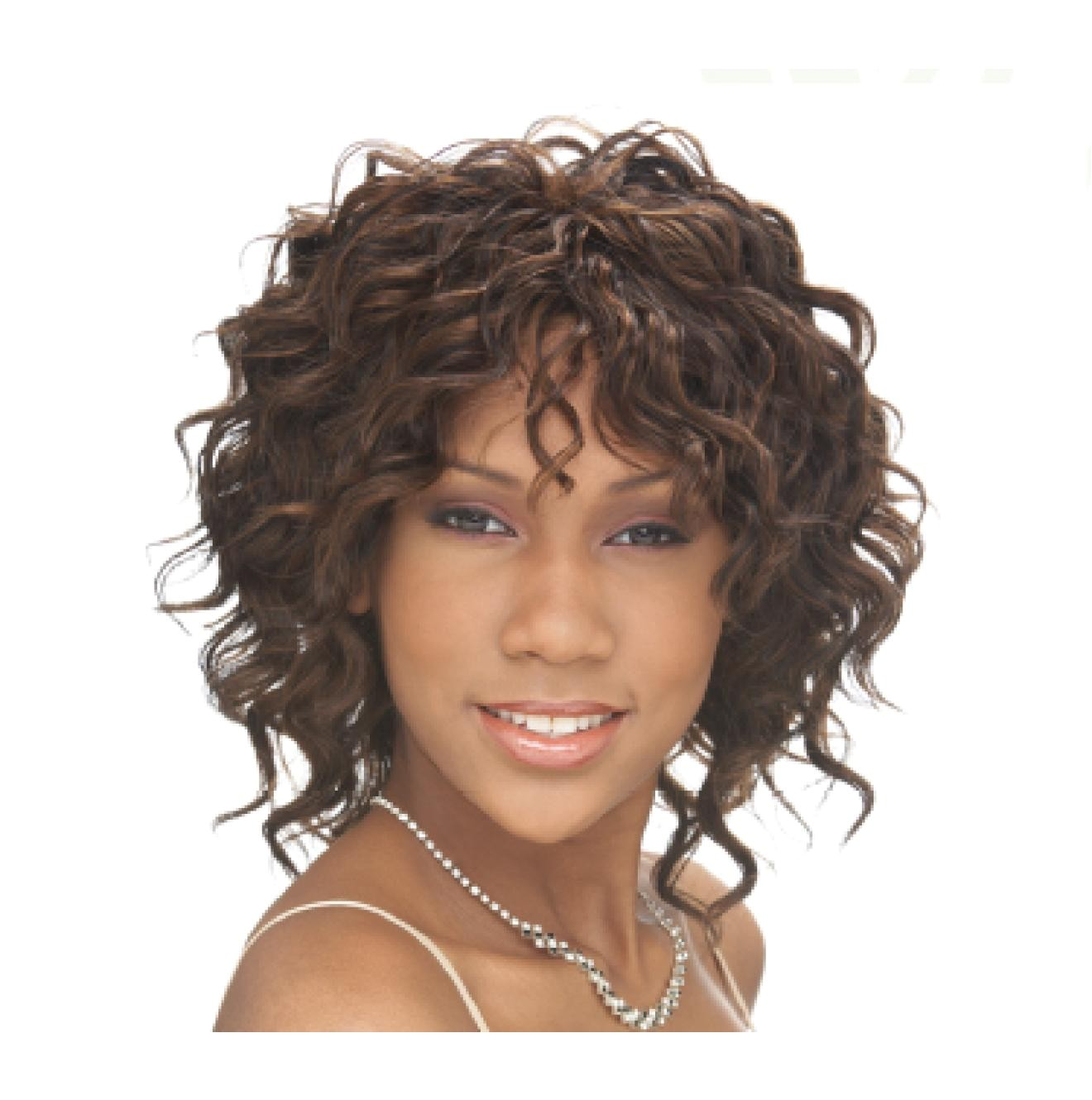 short hairstyles with deep wave hair 2