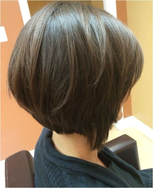 short bob with disconnected layers hairstyles