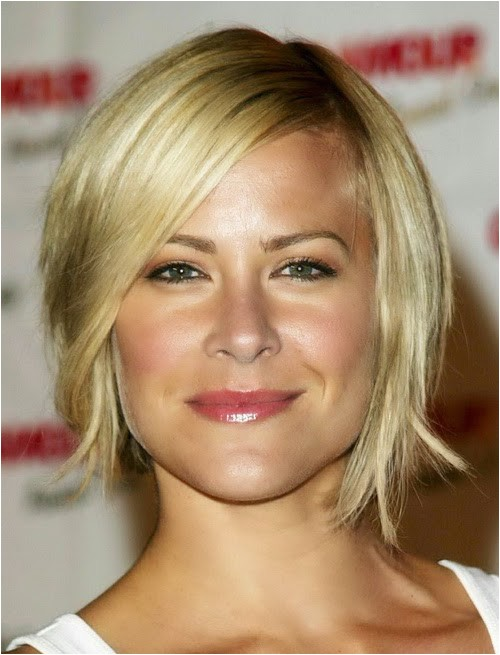 short hairstyles for square faces and