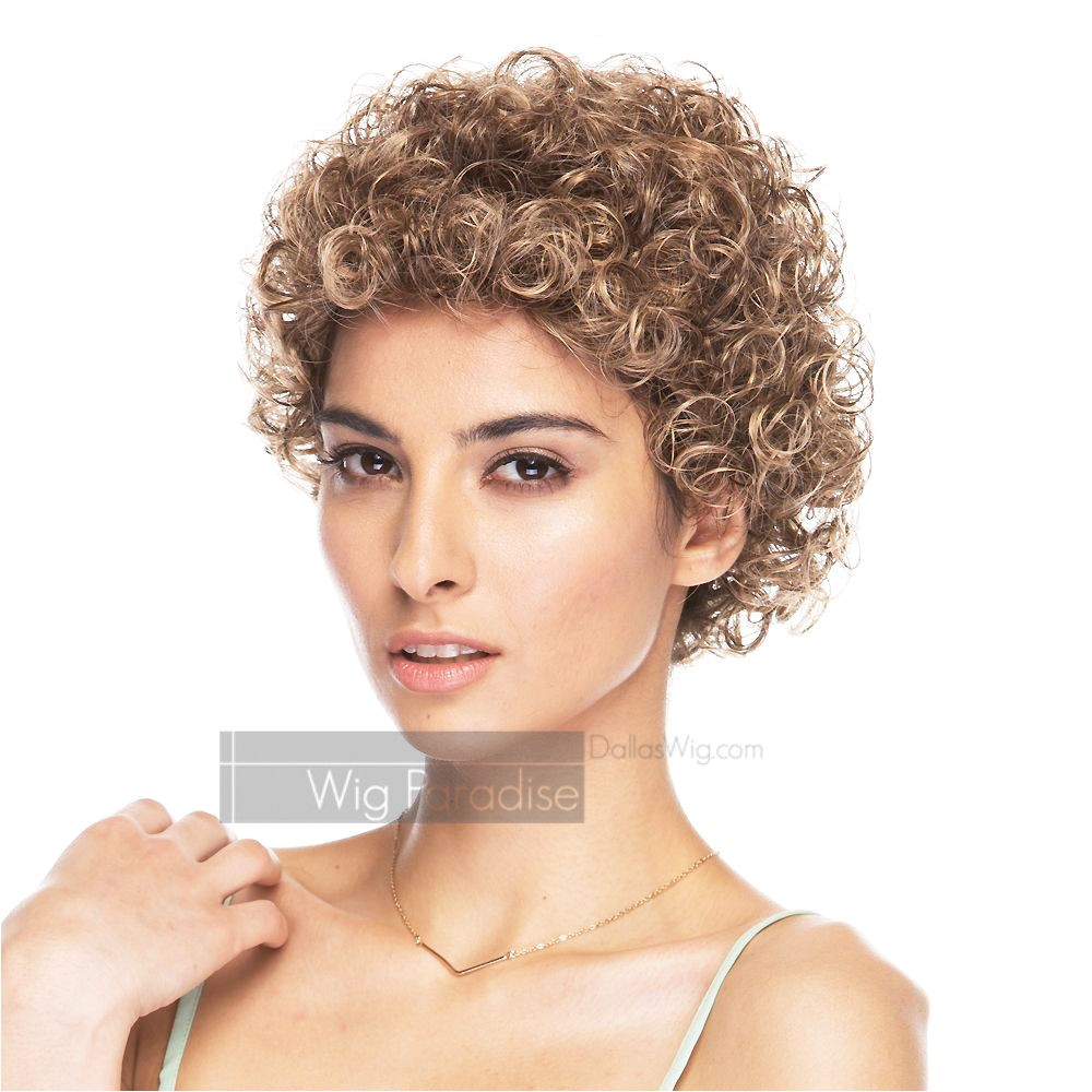 Short Jerry Curl Hairstyles 1