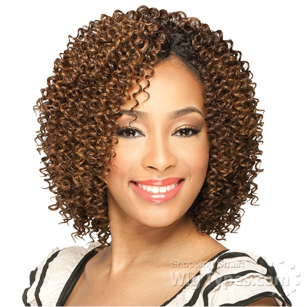 milky way que human hair blend weave short cut series jerry curl 3pcs