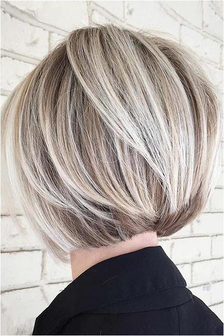 short layered bob hairstyles 2018