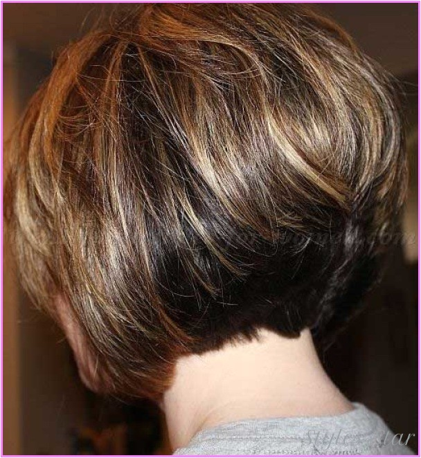 short layered stacked bob haircut pictures