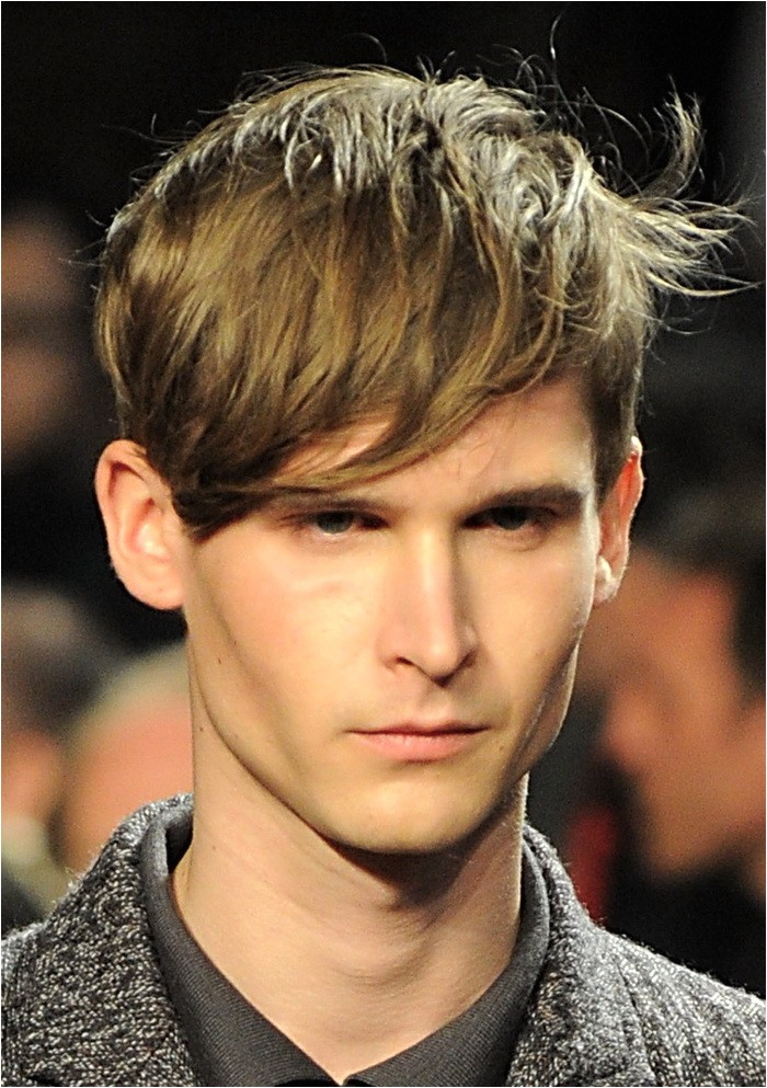 best short messy hairstyles for men