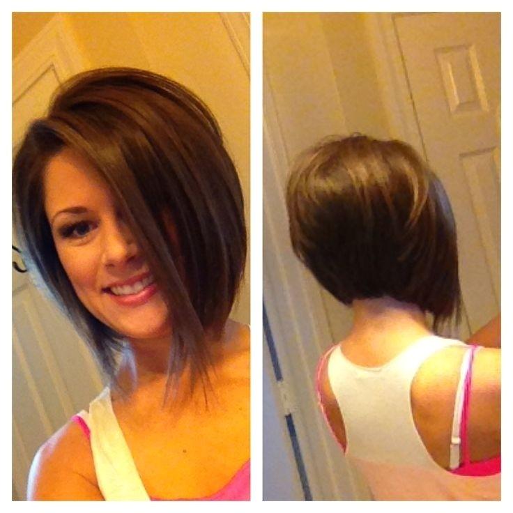 Short Stacked Angled Bob Haircut 10 Chic Inverted Bob Hairstyles Easy Short Haircuts