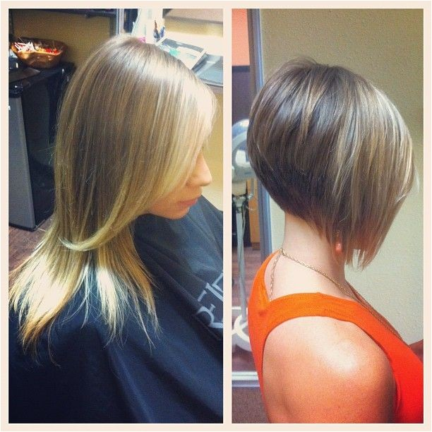Short Stacked Angled Bob Haircut 100 Best Images About Cute Short Hair Cuts On Pinterest