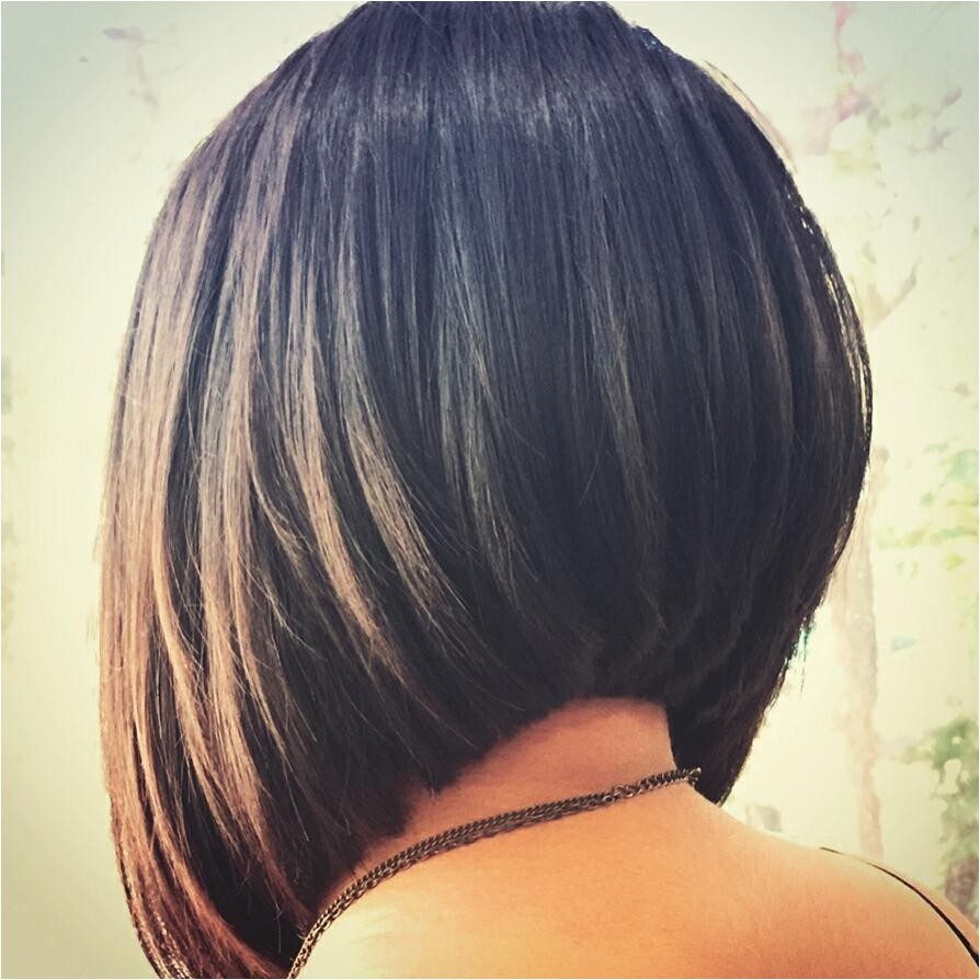short stacked bob haircuts 2018