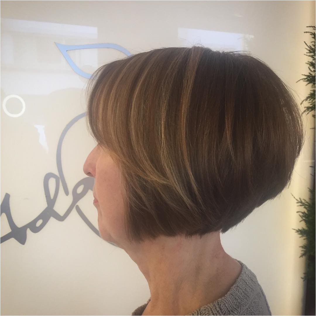 short stacked bob hairstyles 2018