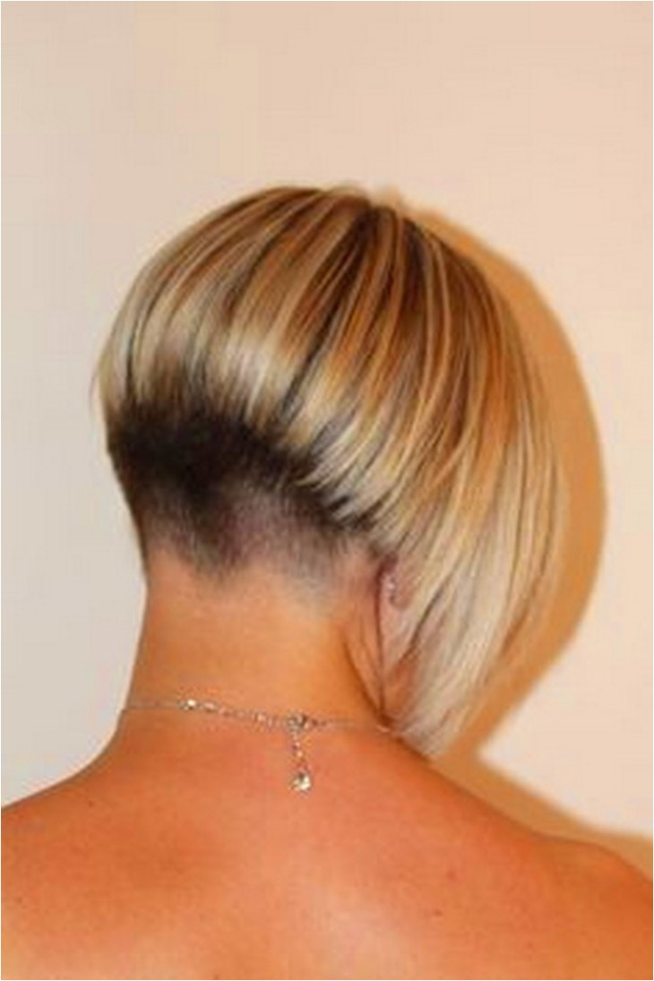 wedge hairstyles pictures back view