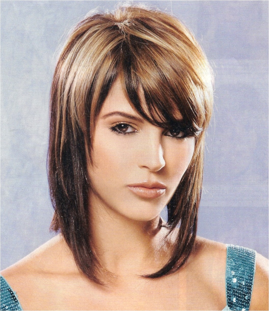 beautiful shoulder length stacked bob haircut looks cool article