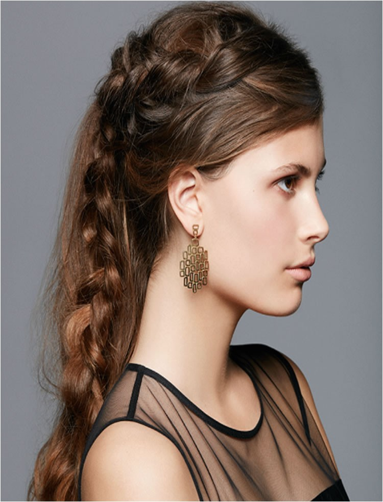 side braid hairstyles for long hair
