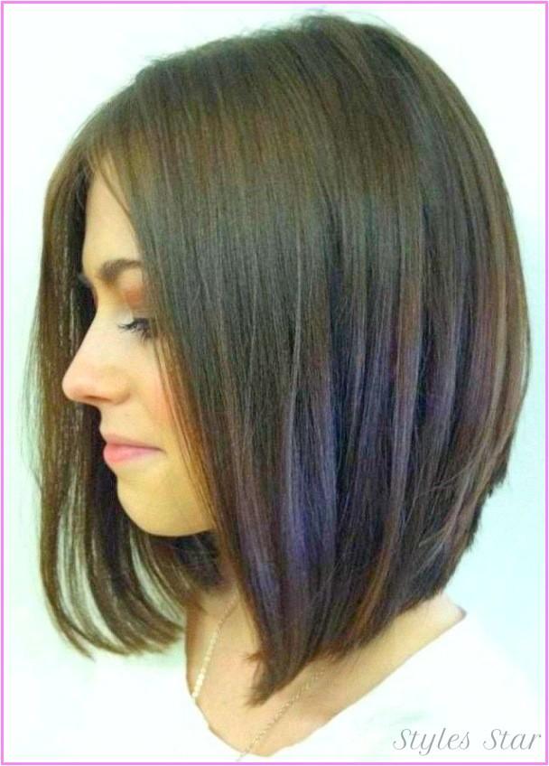 long bob haircuts side view