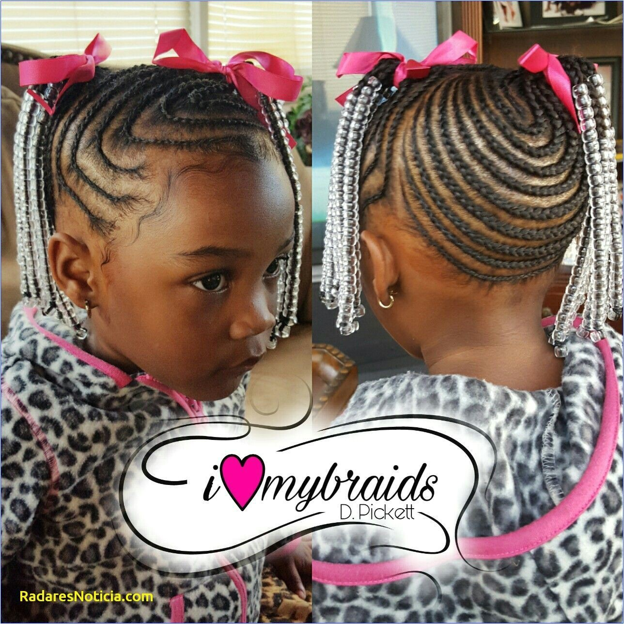 6 Best Kids Braids Styles with Beads
