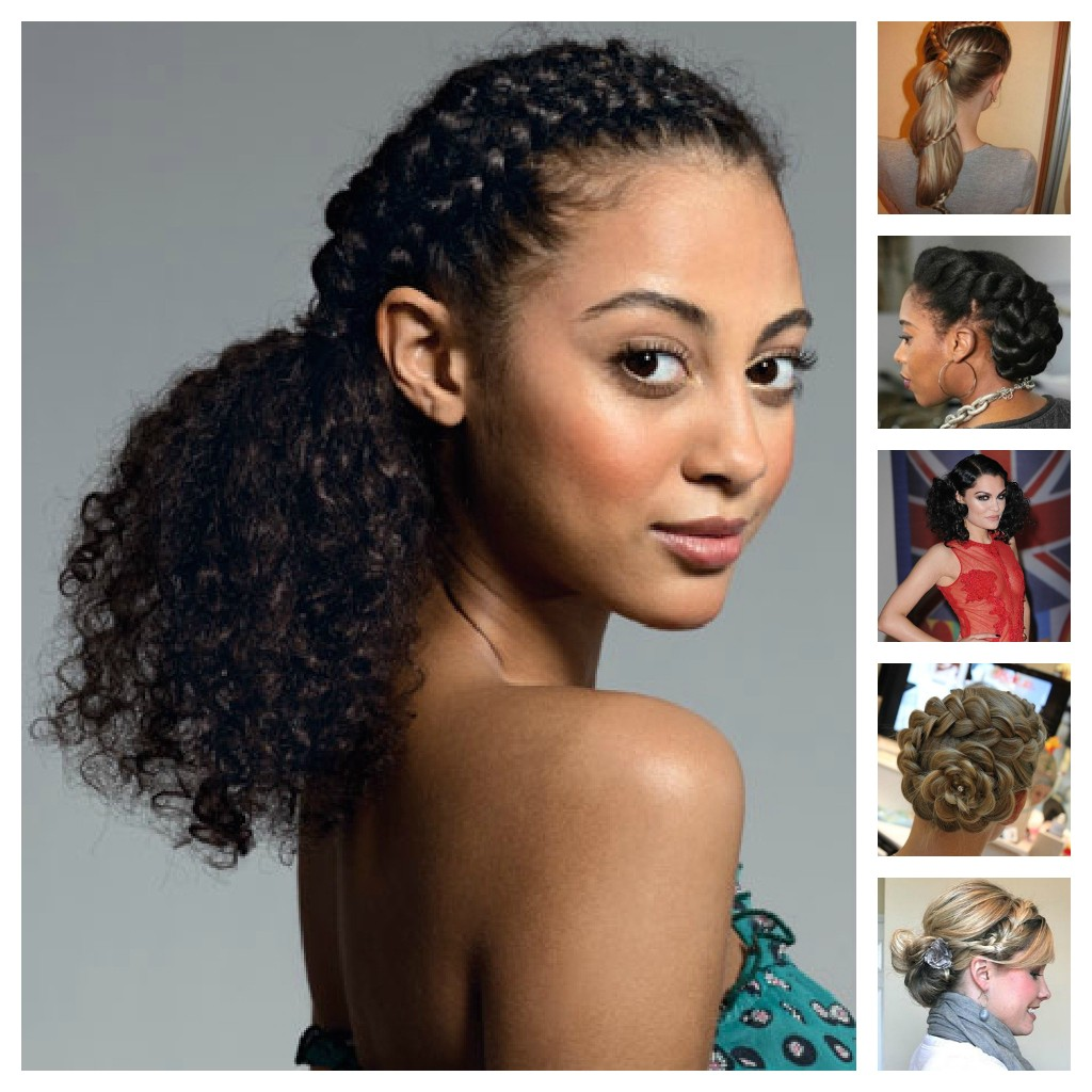 hairstyles for long curly hair for school