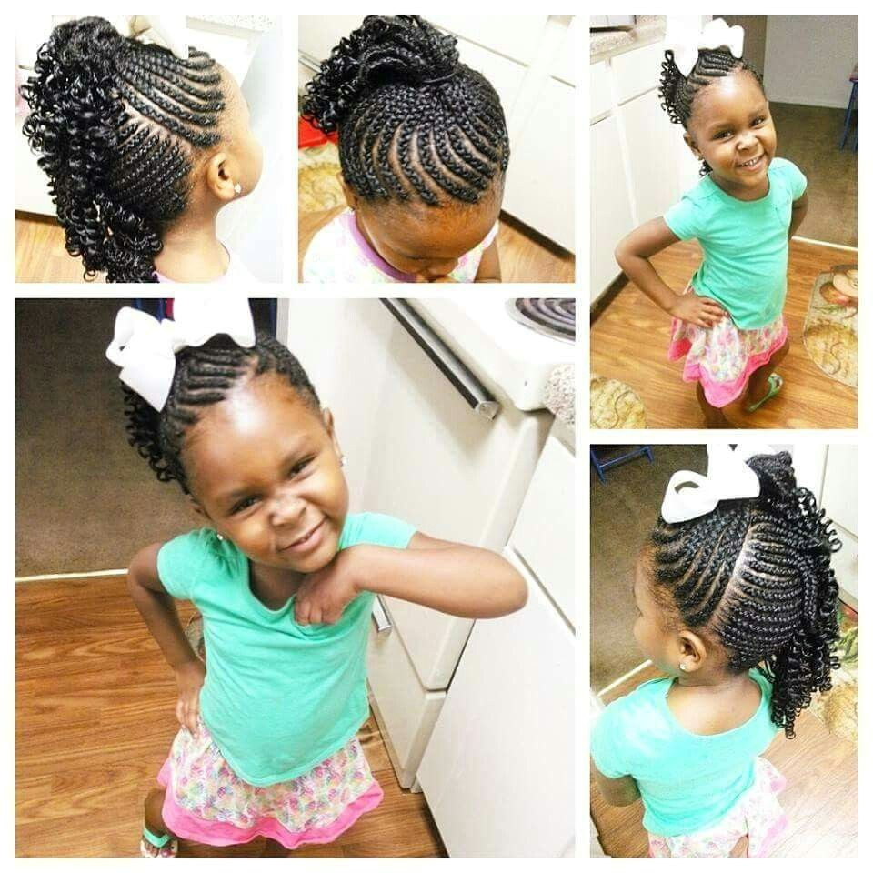 Simple Hairstyles for Little Black Girl for Little Black Girls for Little Ones Pinterest