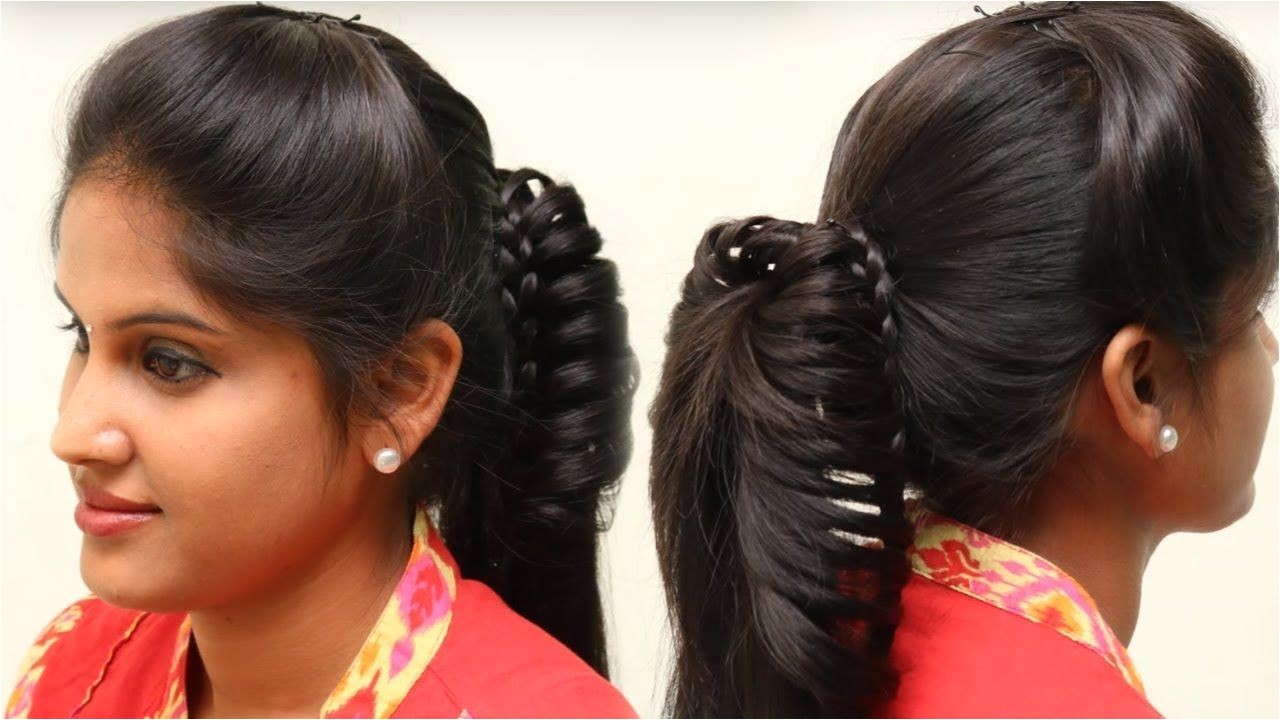 ☆Everyday Hairstyles For School College Girls ☆5 MIN EVERYDAY HAIRSTYLE