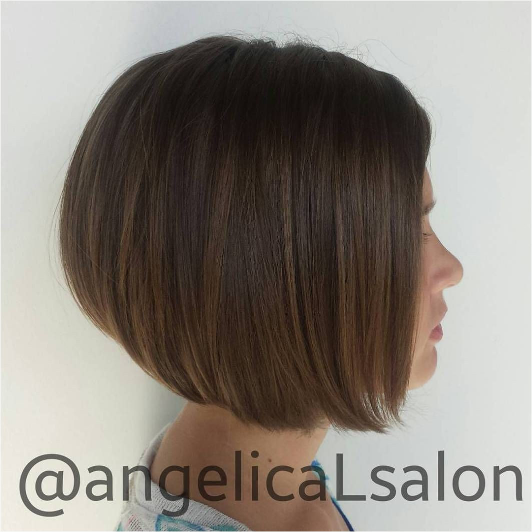 Girls A Line Bob Haircut