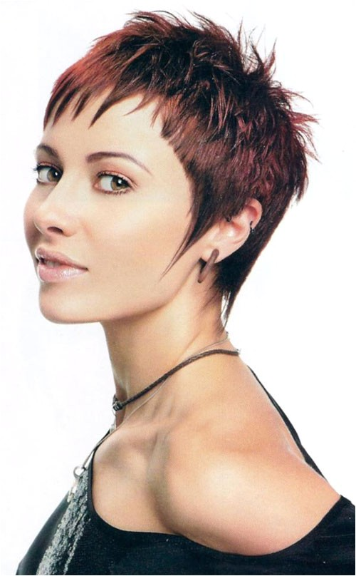 30 funky short spiky hairstyles for women