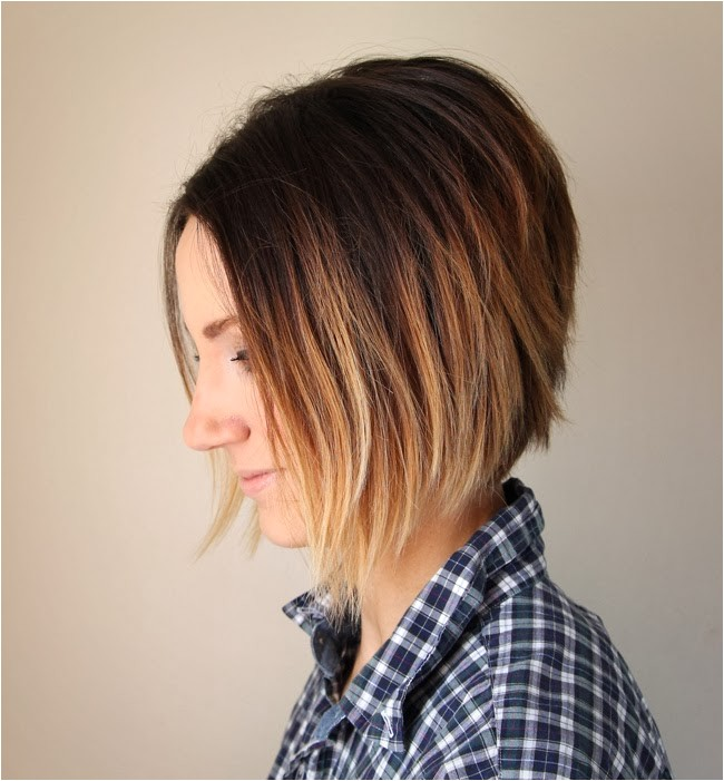 short hair ombre tutorial how to do