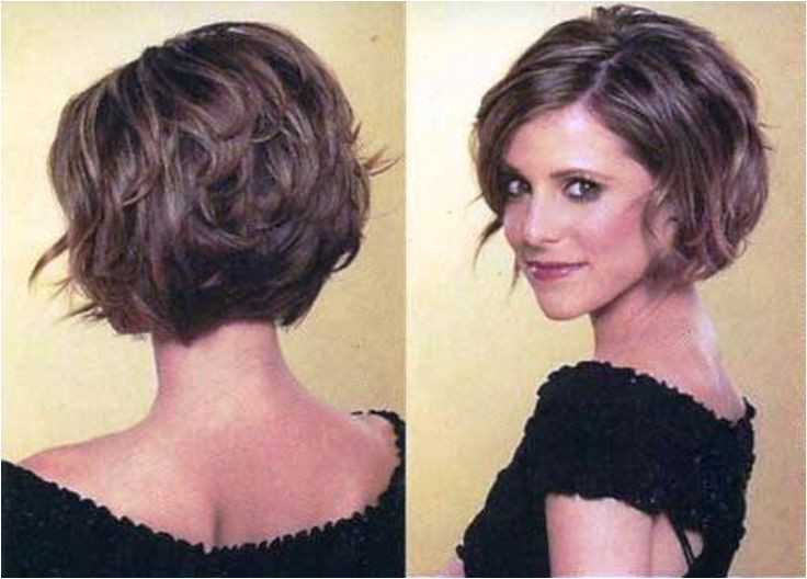 Stacked Bob Haircuts for Round Faces 1