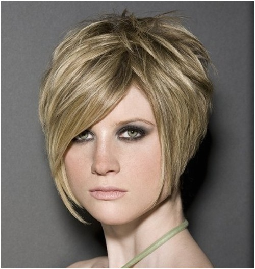 Stacked Bob Haircuts for Round Faces Short Stacked Hairstyles