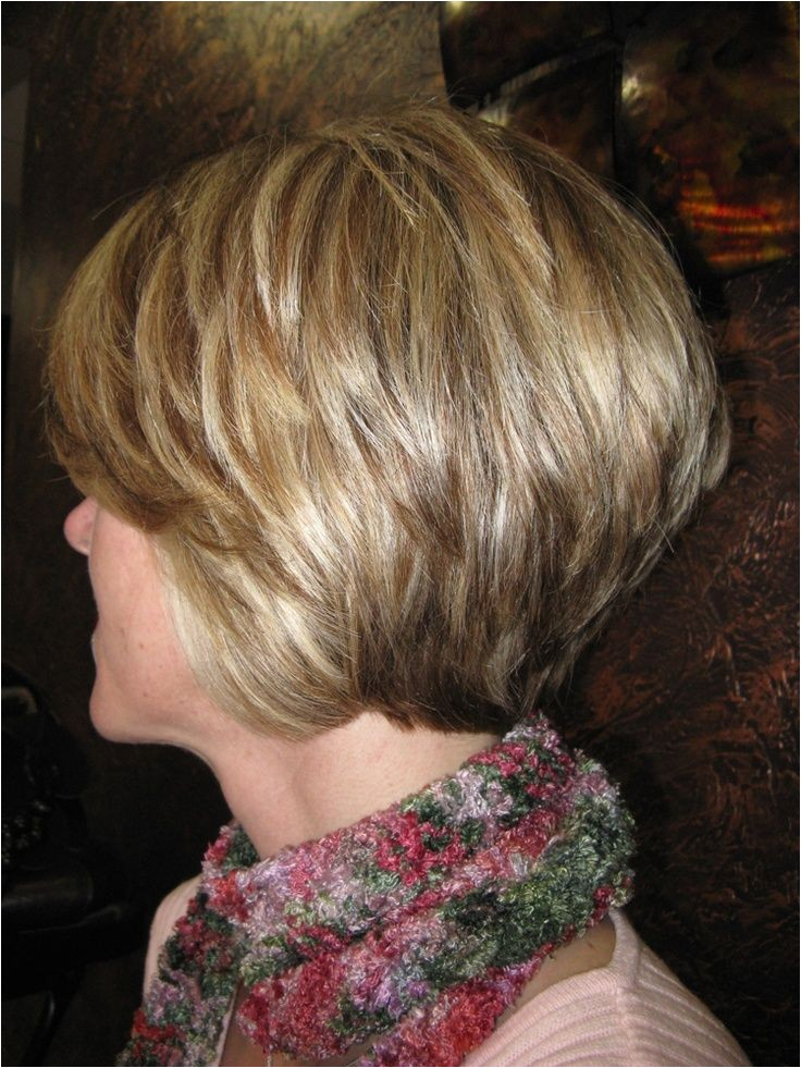 Stacked Layered Bob Haircut Pictures 30 Popular Stacked A Line Bob Hairstyles for Women