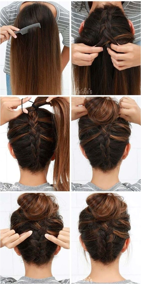 easy step by step hairstyles for girls