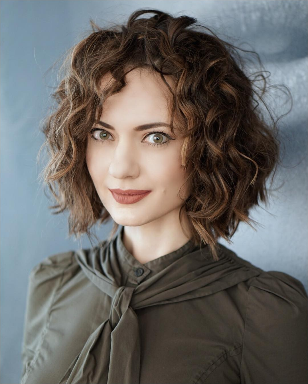 curly hairstyles for bobs