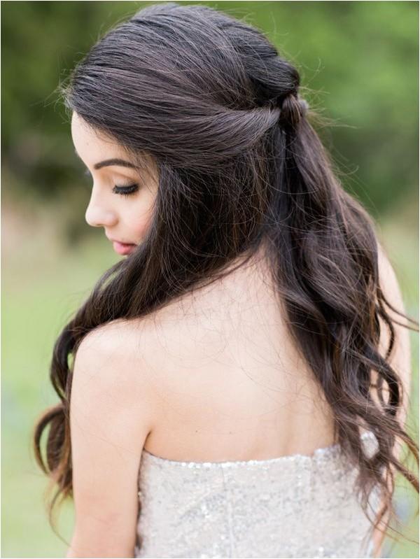 super cute bridal wavy hairstyles 2015