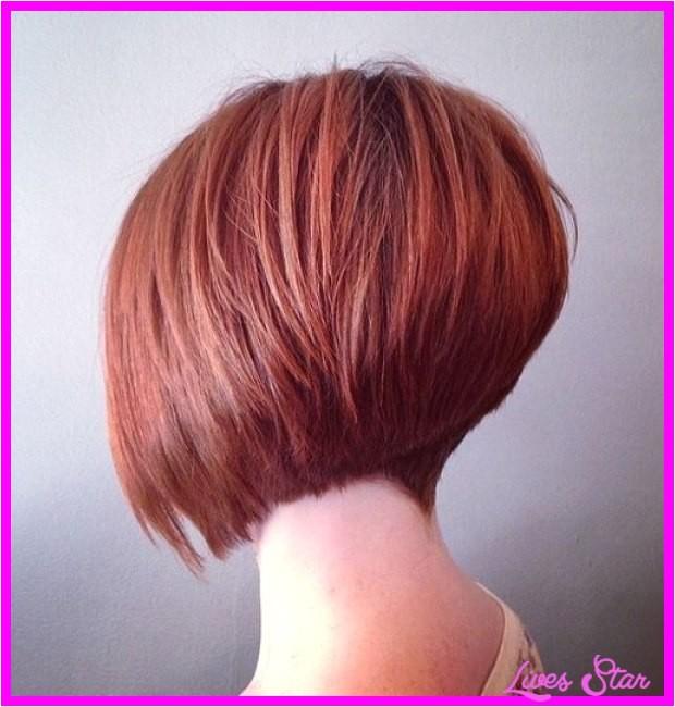 super short inverted bob haircut