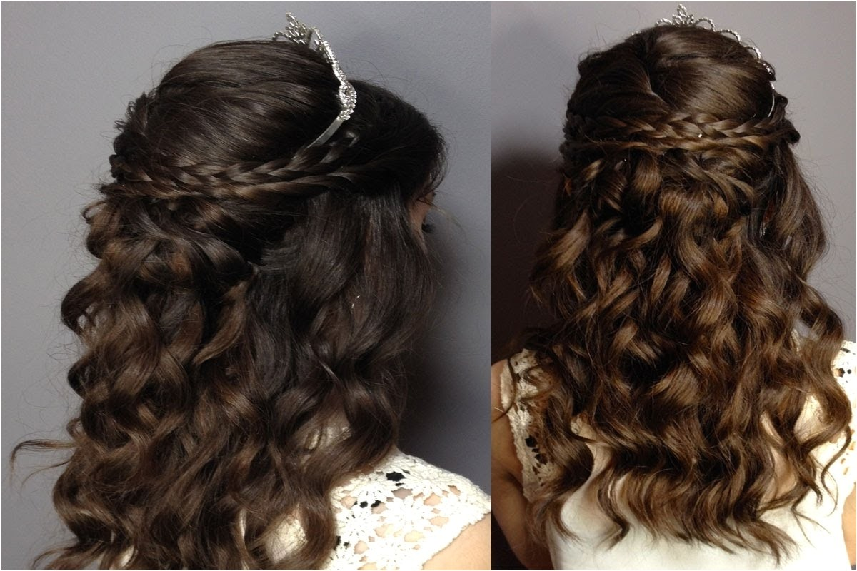 sweet 16 curly hairstyles