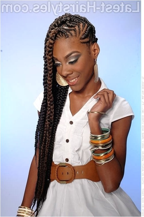 braided hairstyles for black teens