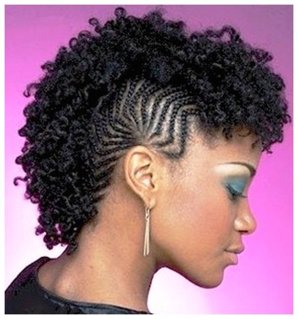 mohawk hairstyles for black women with braids three pictures of natural mohawk hairstyles for black women with