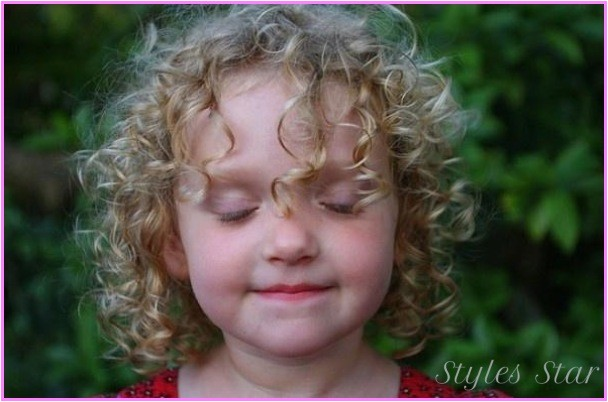 baby girl haircuts curly hair