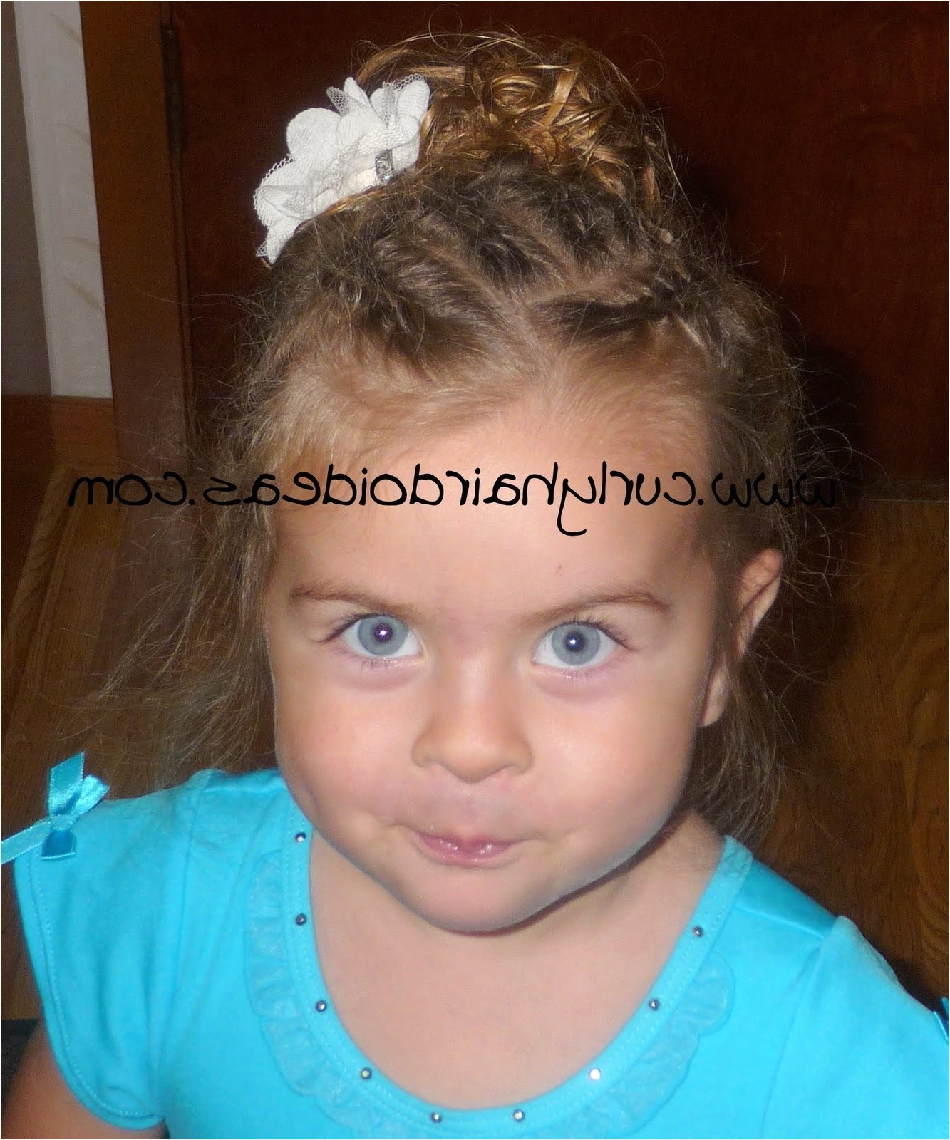 toddler curly hairstyles girl