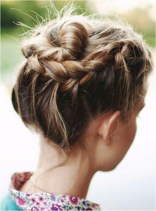 10 updo hairstyles for short hair