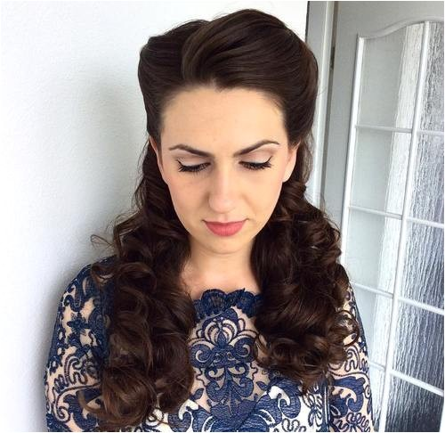 Vintage Hairstyles for Curly Hair 30 Iconic Retro and Vintage Hairstyles
