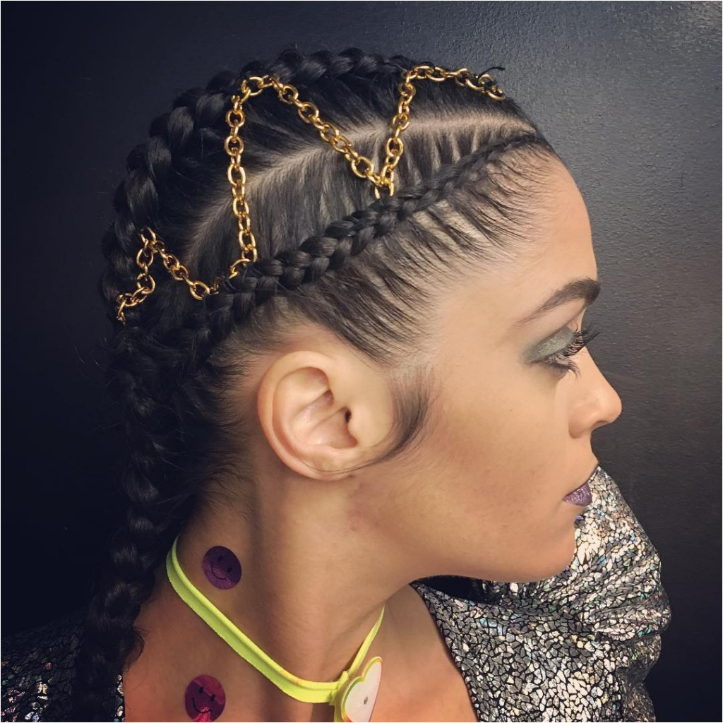black french braid hairstyles pictures
