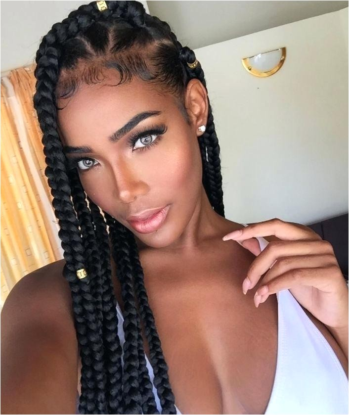 unique big braid styles with weave big box braids hairstyles pictures big braids hairstyle