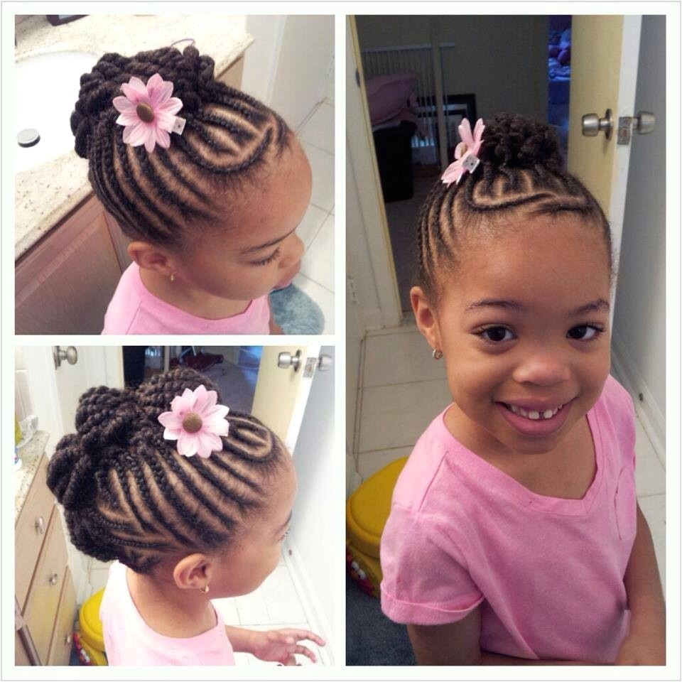 Cute Little Black Girl Hairstyles Awesome Cute Updo Natural Hair As Well Dyed Hair Ideas