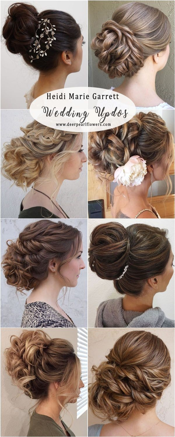 Wedding Updo Hairstyles with Braids 20 Best Wedding Updo Hairstyles to Copy In 2018