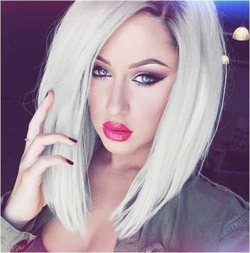 White Girl Bob Haircut White Blonde Bob Hairstyles