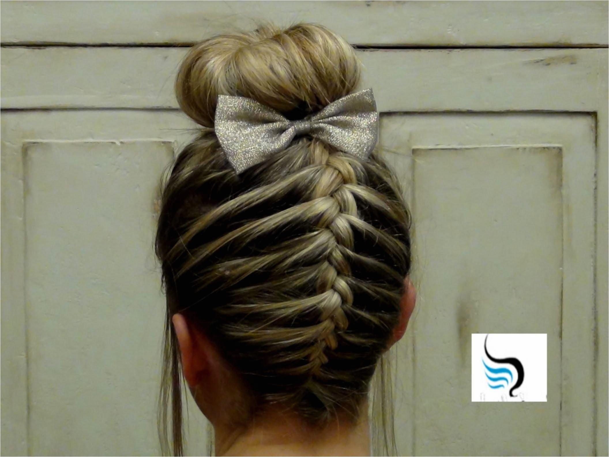 french braid bun short hair braids hairstyles white girl horrible simple